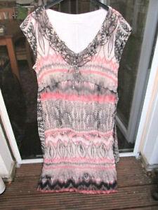 * BONITA * Wunderschönes Kleid...Crash-Optik.....Neuwertig ..Gr. 40