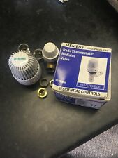 SIEMENS TRADE TRV THERMOSTATIC RADIATOR VALVE 10-15MM REVERSIBLE BEST QUALITY