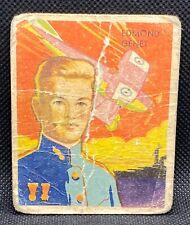 1934 National Chicle Sky Birds #53 Edmond Genet card. Navy, Lafayette Escadrille