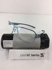 New IC Berlin Bus 124 Bollests electriclight Blue Metal Eyeglasses