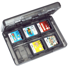 Game holder case for 3DS 2DS DS Nintendo cartridge 24 in 1 travel black ZedLabz