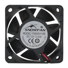 YY6025H12S 12V 0.48A 6cm oil-bearing 6025 large wind power cooling fan