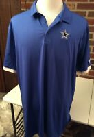 Mens DALLAS COWBOYS NIKE Authentic Football NFL Coach Polo  Shirt Sz XXL NWOT
