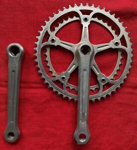 Vintage Campagnolo Chainset 52/42 Strada 170 Retro Road Bike