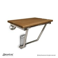 Folding Shower Seat Natural Teak