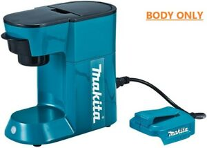 """【Makita】""""Rechargeable Coffee Maker CM500DZ"""" Body ONLY No Battery 18V NEW JAPAN"""