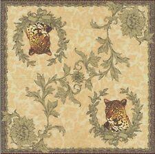 2 Serviettes en papier Léopard Decoupage Paper Napkins Wild Animal Leopard