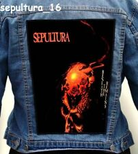 SEPULTURA   Back Patch Backpatch ekran new VOL. 2
