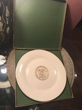Lenox Liberty & Prosperity Plate The Great Seal 24K Gold 1976 Special Made Usa