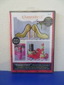 Kimberbell Sweet Feet Volume 1 KD559 6 Designs 2 Sizes Each