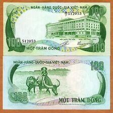 Vietnam South, 100 Dong, ND (1972) , P-31, aUNC > Buffalo