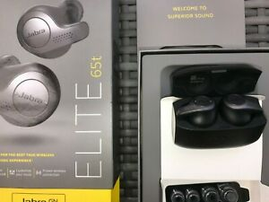 Jabra Elite 65t True Wireless In-ear Earbuds 4 Mic equaliser - Black TITAINIUM