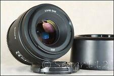 Sony Alpha SAL85F28 DT 85mm f/2.8 SAM Lens - Mint