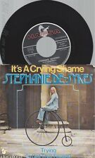 "7""STEPHANIE DE-SYKES--IT'S A CRYING SHAME"