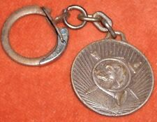 Porte-clé Keychain Chasse a courre vénerie COR chien glaive flingue fusil Medal