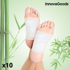 Innovagoods Wellness Care Patchs Détoxifiants (Pack de 10) pour les pieds