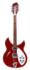 Rickenbacker 330/12 Ruby 12-Saiter e-guitarra maleta incl.