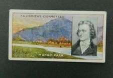 Cigarette Card F.& J.Smith's - Famous Explorers 1911 - Mungo Park # 8