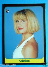 figurines cromos figurine card masters cards 1993 cristina quaranta non è la rai