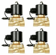 "solenoid valves air 1/4""npt four brass for train horn custom air ride suspension"