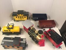 Scientific Toys RIO GRANDE Train Set 7 Cars 19 Tracks G Scale 7318