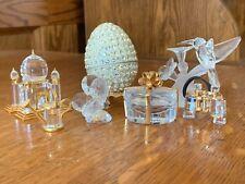 swarovski crystal figurines lot of 7