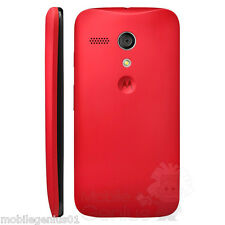 Genuine battery cover for Motorola Moto G - RED - Brand New Retail package