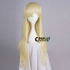 Sucker Punch Baby Doll Long Blonde Wavy Anime Cosplay Hair Wig Heat Resistant