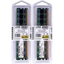4GB KIT 2 x 2GB Dell PowerEdge M610 R210 II R310 R320 PC3-8500 Ram Memory