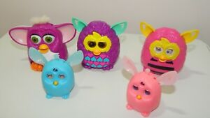 FURBY, Lot of 5 Vintage McDonalds Furbys happy meal Toys Connect & More