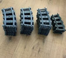 LEGO curved rails city trains railway bocht trein 53400 4279717 30 stuks/pieces