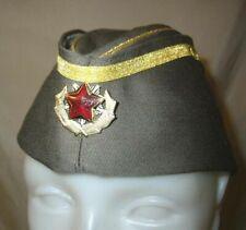 VRare Yugoslavia General Titovka Cap & badge Infantry Communist Army !
