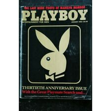 PLAYBOY US 1984 01 INTERVIEW DAN RATHER 30 MEMORABLE YEARS PHOTO PENNY BAKER MAR