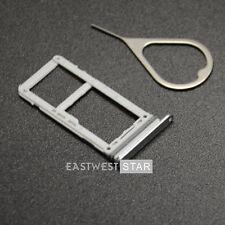 Silver OEM Dual Sim Card Micro SD Holder Slot Tray For Samsung Galaxy S8 S8+Plus