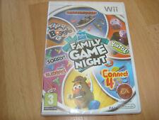 HASBRO FAMILY GAME NIGHT ** NEW & SEALED ** Nintendo Wii Game