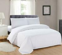 200TC Thread Count 100% Cotton Duvet Quilt Cover Hotel Quality Bedding set Size
