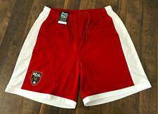 NEW Real Salt Lake MLS Brand Training Shorts sz Large Red Soccer Drawstring RLS