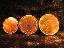 Monnaie 1,2,5 centimes cent cts euro Pays-Bas 2008, neuves du rouleau, UNC