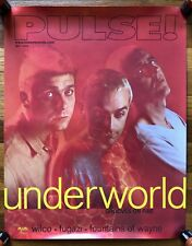 Underworld (Pulse Magazine Tower Records) Rare original promo poster 1999