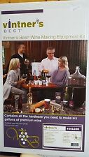 Vintner's Best Deluxe Wine Equipment kit with 6 Gallon P.E.T. carboy 3012BB