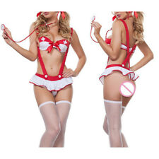 Women Sexy Lingerie Babydoll Underwear Cosplay Nurse Cosplay Sexy lingerie 4201