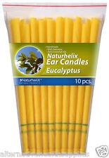 Naturhelix Ear Candles Eucalyptus 5 Pairs Organic Beeswax and Cotton  ARTG 18555