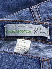Venezia Stretch Bootcut Jeans 26 Average Cotton/Spandex 5 Pocket Excellent