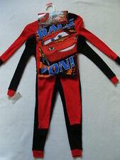 NWT Boys Disney CARS Pajamas Size 4 Cotton Winter Pjs Pants 2pr McQueen NEW