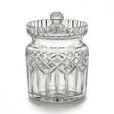 Waterford Crystal Lismore Traditional Biscuit Barrel Cookie Jar Brand New