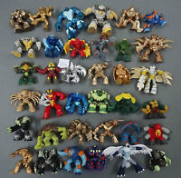 "lot of 36 Gormiti Giochi Preziosi different Figures by random  2""-2.5"" #a80"