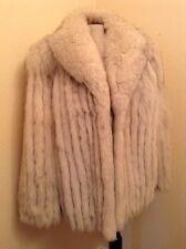 Absolutely Gorgeous Vintage Norwegian Blue Fox Fur Coat, Women's Med (sz 10-12)