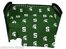 Michigan State Spartans NCAA Crib 5 Piece Bed in a Bag