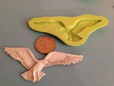 Bird silicone mould - cake decorating, fimo, craft - nature