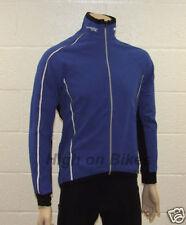 Lusso Wintex Cycling Jacket Jersey Windproof - Small - Blue